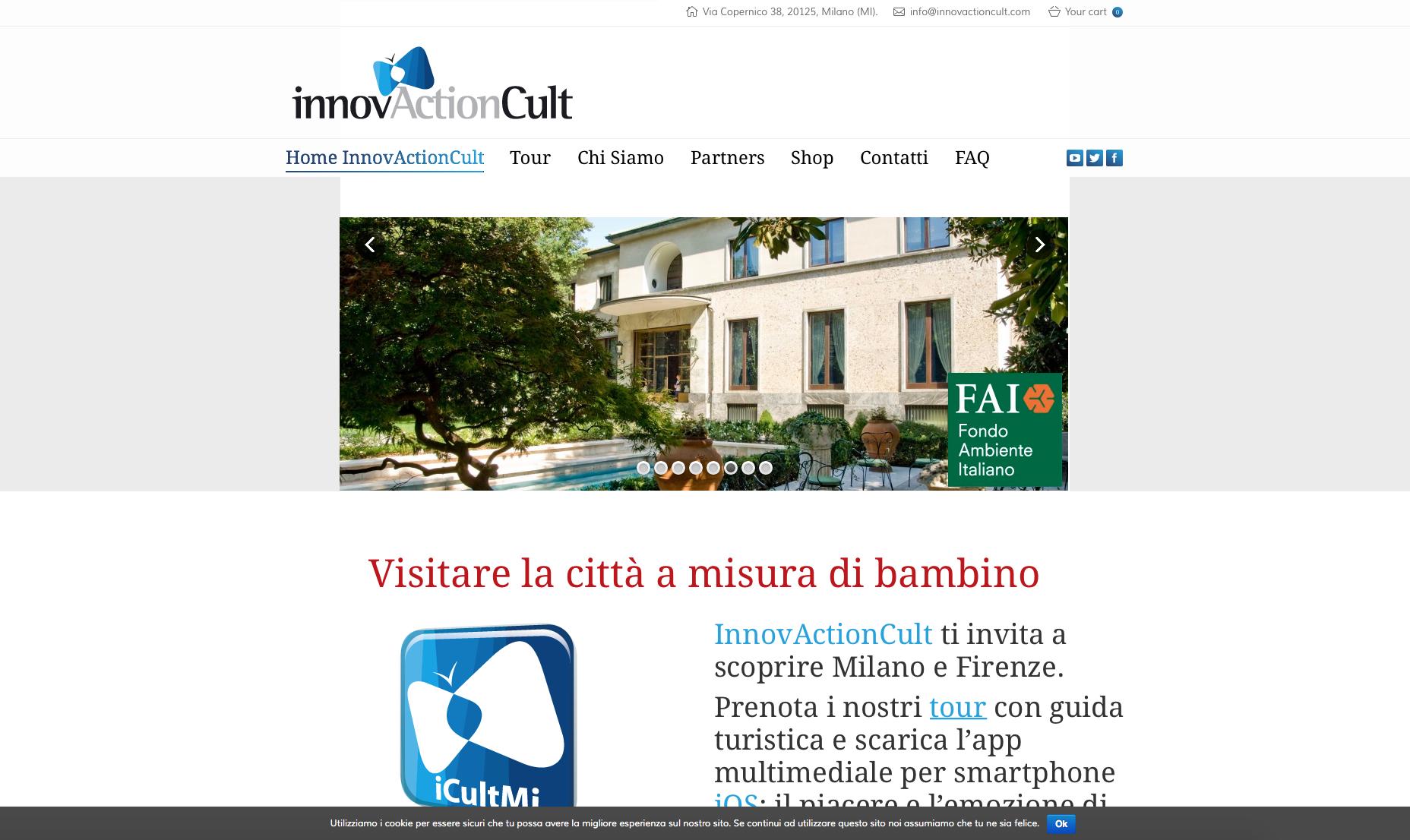 innovactioncult it nuovo sito web sviluppato da geofelix