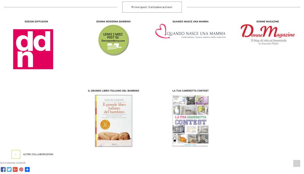 creare blog sito web geofelix mammachecasa dalia marchesi collaborazioni