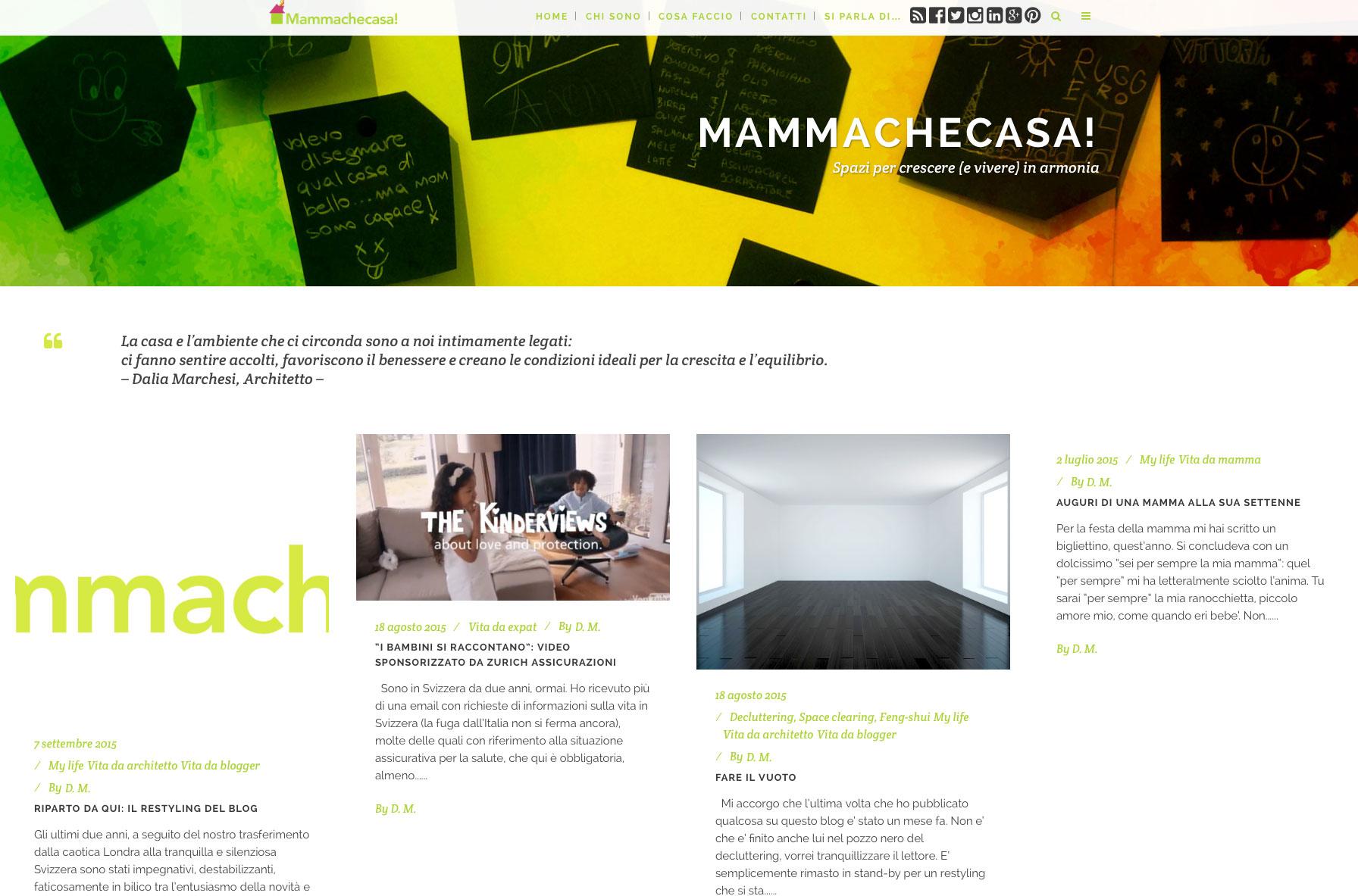 creare sito web mammachecasa geofelix