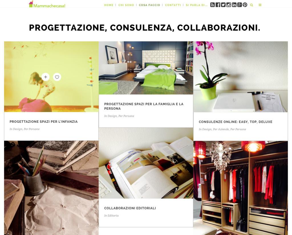 portfolio mammachecasa creare blog
