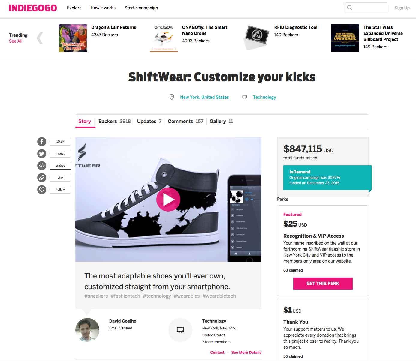 shiftwear-su-indiegogo