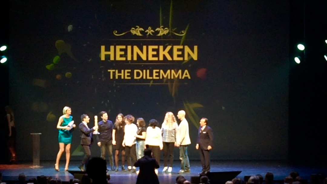 gran prix advertising strategies 2016 show chiambretti vincitore heineken