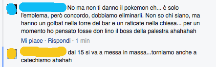 pokemon a messa