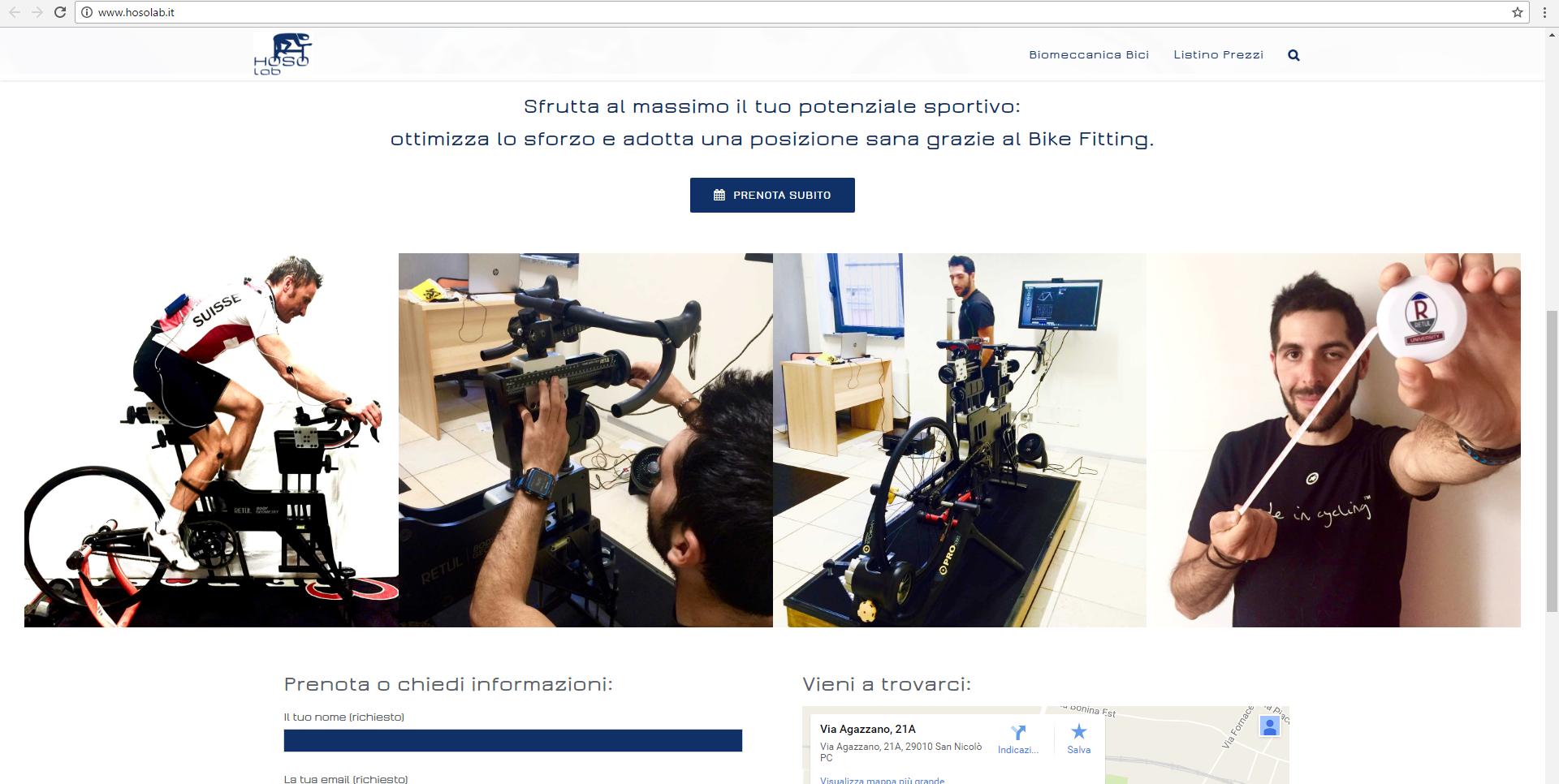 Hoso Lab bike fitting Piacenza Geofelix