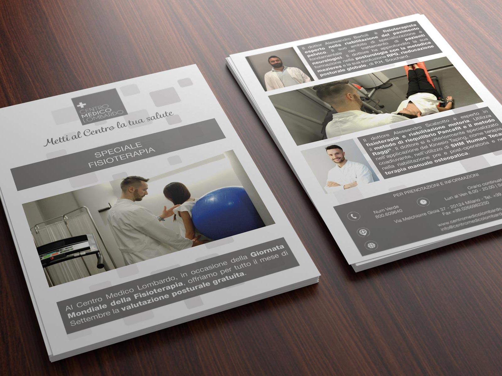 Brochure volantini marketing progettazione grafica aziende e professionisti Geofelix