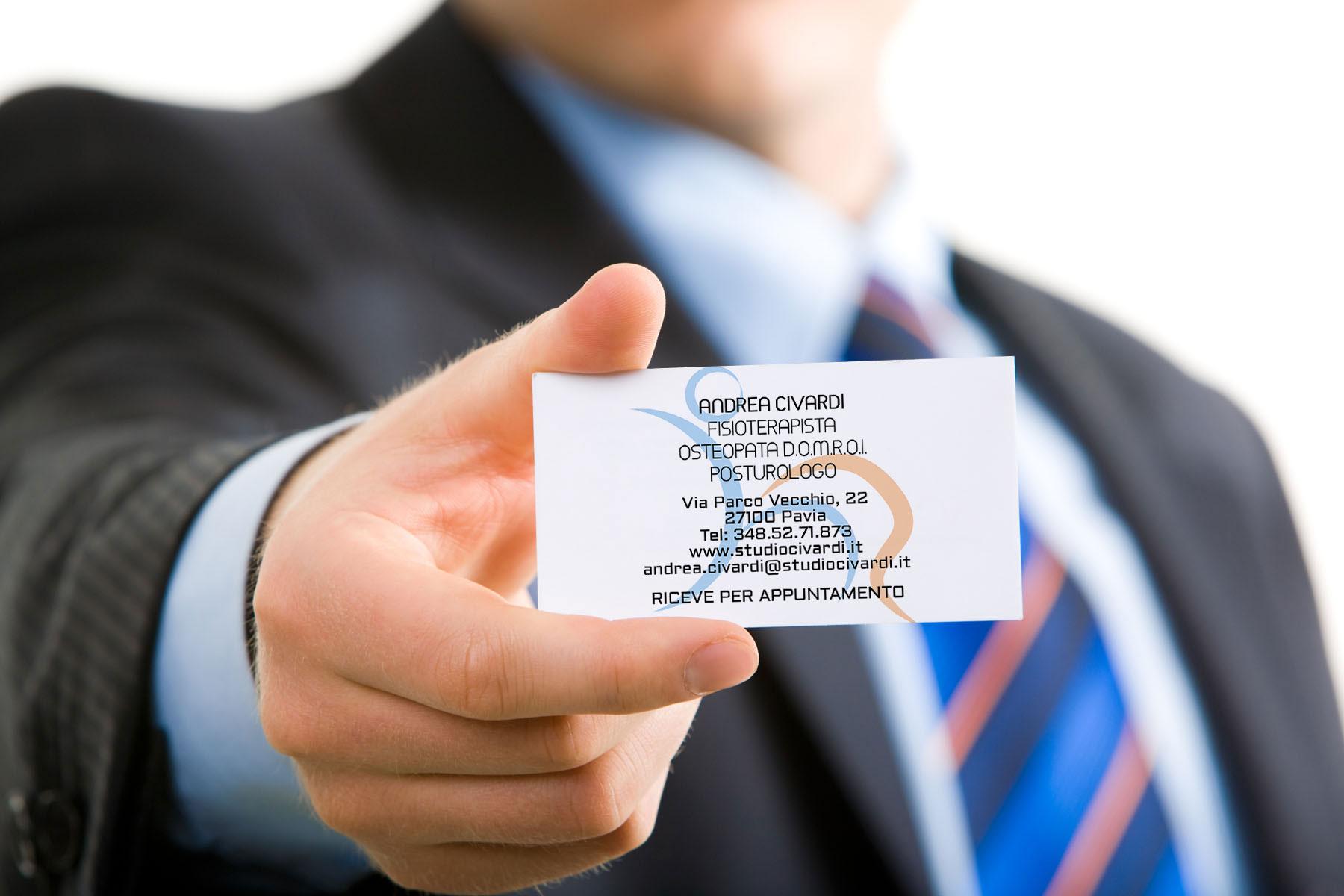 Biglietti da visita aziende e professionisti Geofelix